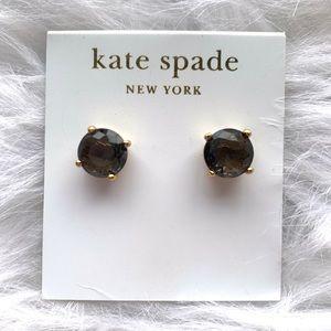 Kate Spade Black Diamond Earrings